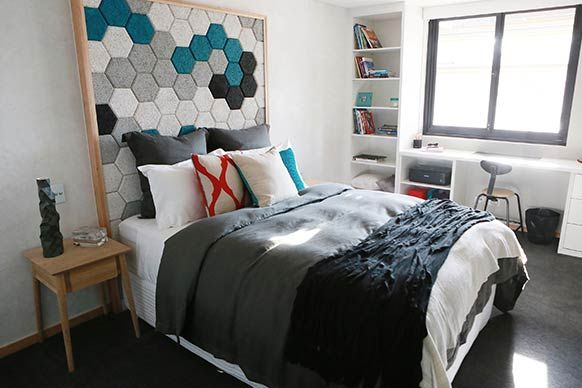 The Block Sky High: Room Reveal: Kim + Matt's guest bedroom