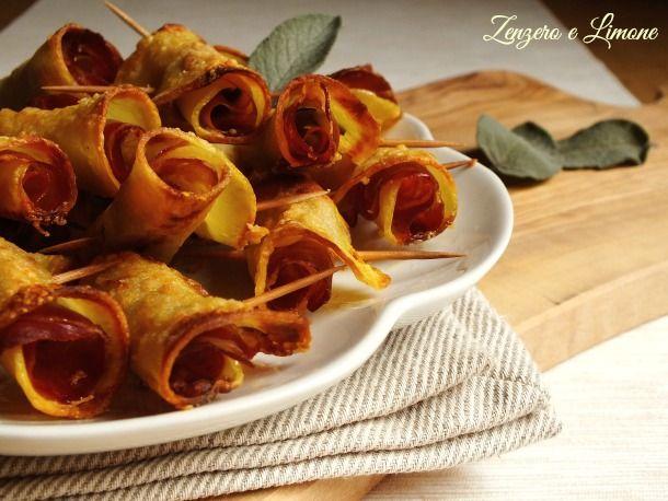 I saltimbocca di patate sono dei bocconcini molto appetitosi e sorprendentemente facili da preparare! La cottura al forno li rende croccanti e leggeri