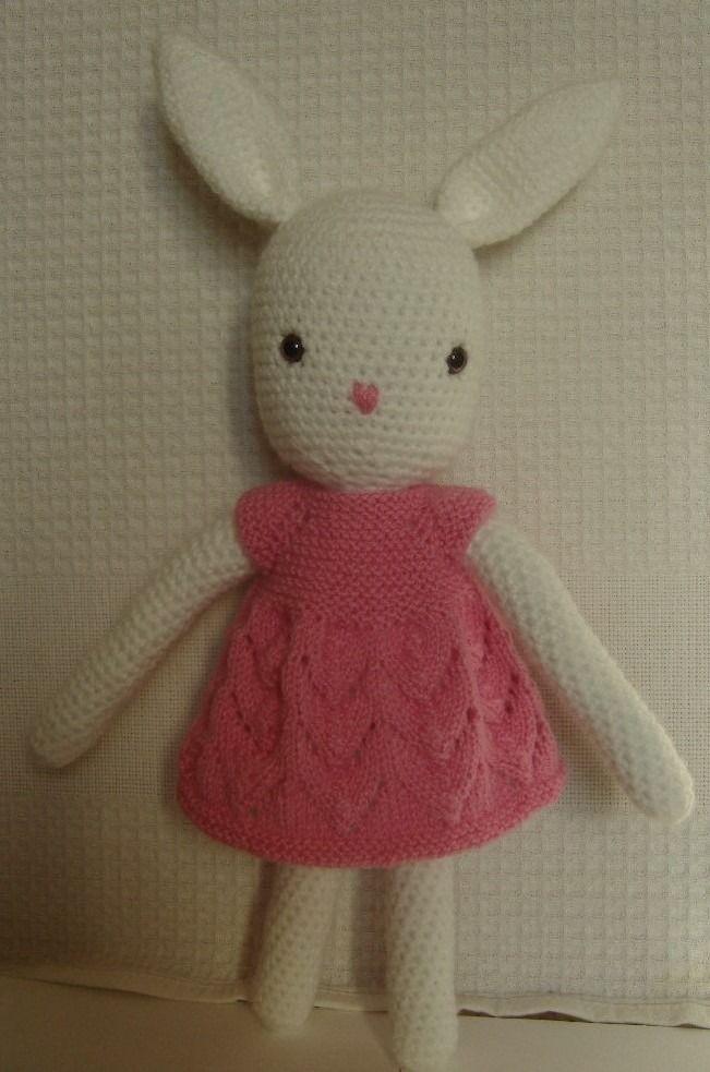 Amigurumi doudou lapin au crochet : Jeux, jouets par aux-fils-du-bocage