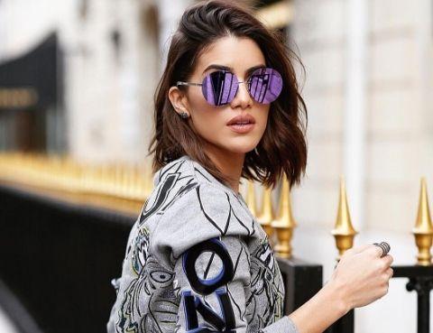 Tendência: Óculos de sol com a lente reta | Sutileza Feminina