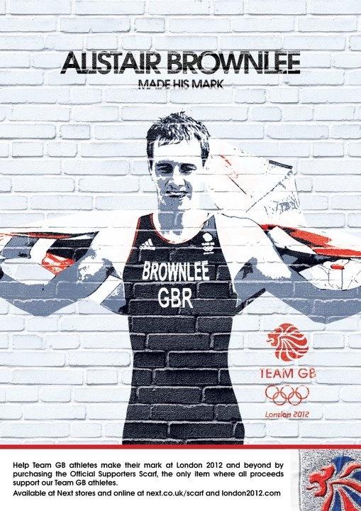 Alistair Brownlee Team GB Made his mark