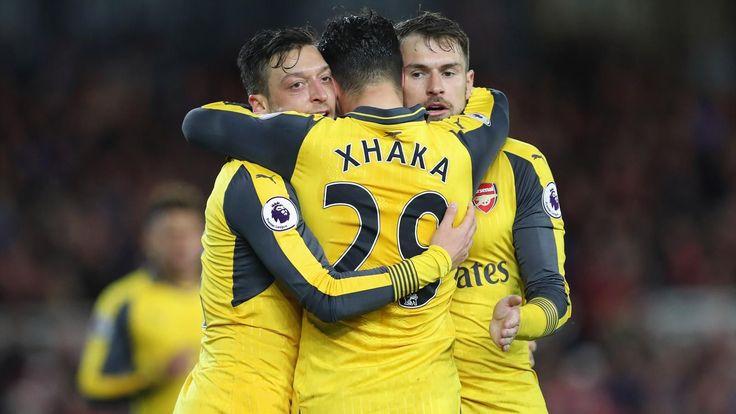 Premier League : Arsenal s'impose sur le terrain de Middlesbrough (1-2) - Premier League 2016-2017 - Football          Sans faire une démonstration de force, Arsenal a fait le travail sur la pelouse de Middlesbrough (1-2) pour rester en vie dans la course à... http://www.eurosport.fr/football/premier-league/2016-2017/premier-league-arsenal-s-en-tire-bien-et-peut-encore-y-croire_sto6133833/story.shtml