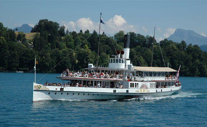 Dampfschiff Uri 1901