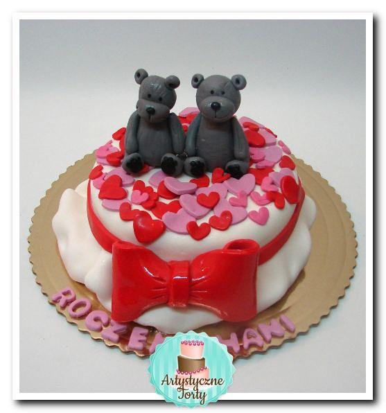 tort z misiami dla dziewczynki