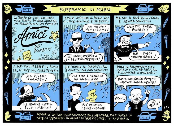Tuono Pettinato - Superamici di Maria