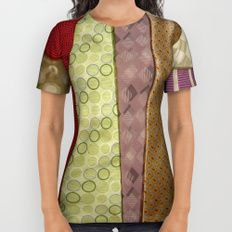 Load of ties - Multi Coloured All Over Print Shirt by I Love the Quirky