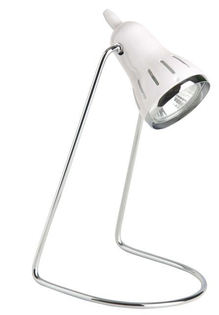 HUGO - detská stolná lampa biela