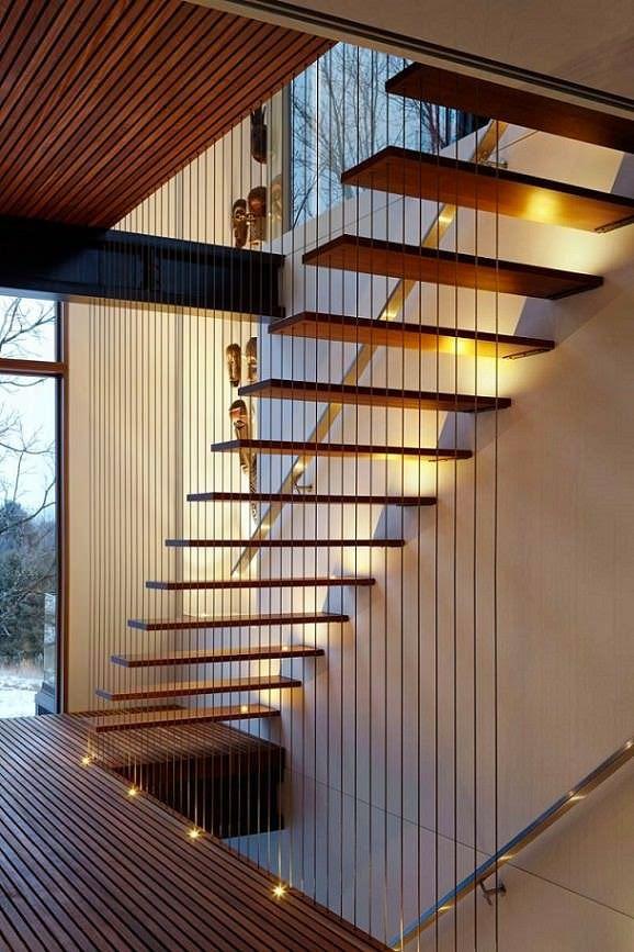 17 mejores ideas sobre escalera en pinterest pasamanos y - Escaleras rusticas de interior ...