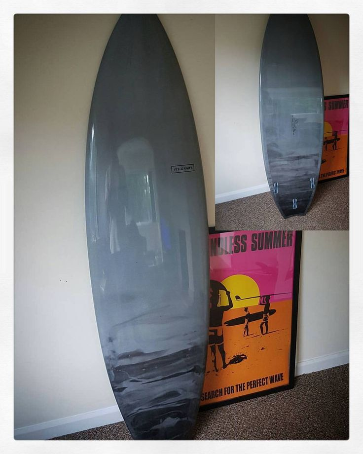 Much better picture of @chrisbmx42 's custom S Burner taken by @chrisbmx42  Cheers Chris.  #visionary #custommade #sburner #surfboard #resintint #swallowtail #madetoorder http://ift.tt/19MEsb6 http://ift.tt/1v0LElc