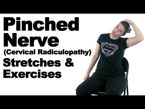 Pinched Nerve (Cervical Radiculopathy) Stretches & Exercises - Ask Doctor Jo - YouTube