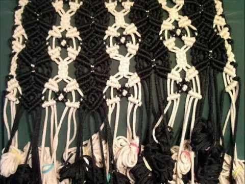 Плетение накидки-макраме.wmv