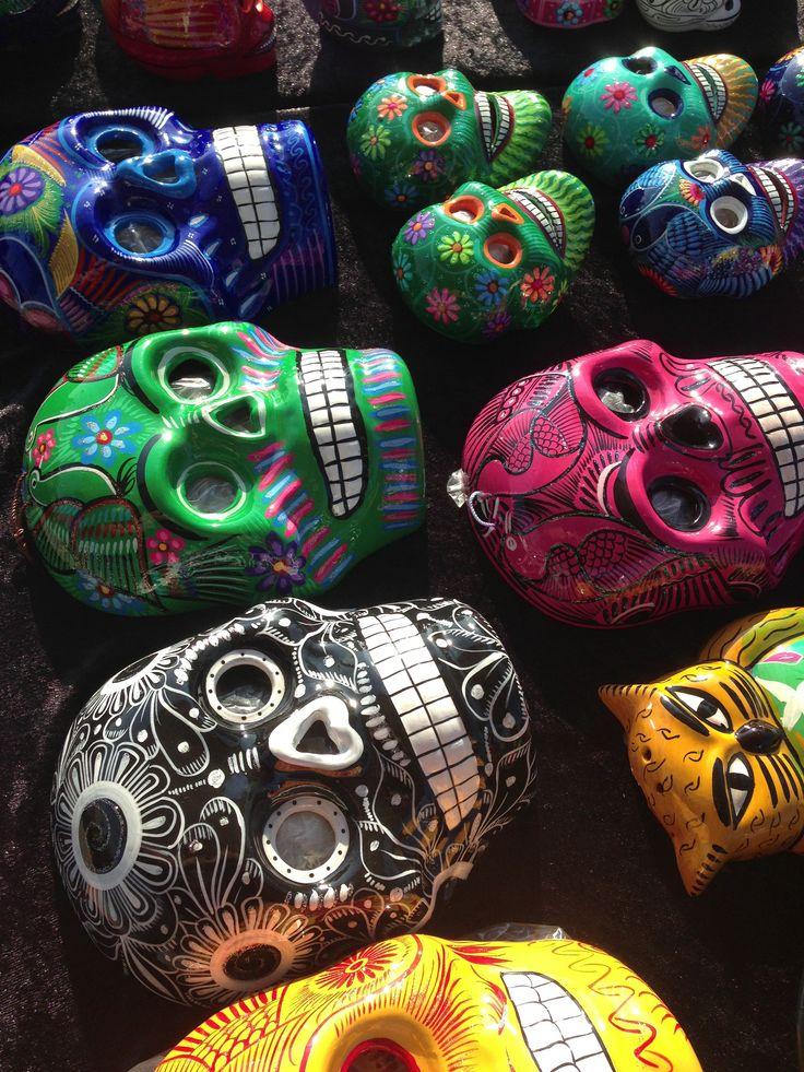 Sugar skull wall decor   sugar skulls   Pinterest