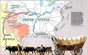 Map of the Santa Fe Trail LocationMissouri, Kansas, Oklahoma, Texas, New Mexico Established1821 Governing bodyNational Park Service @ http://www.pinterest.com/rjburkhart3/kansas-virtual-tours/