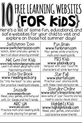 Educational Websites. Starfall has been my go-to for my girls since they were teeny! Both of my daughters learned to read extremely early (one of them was 3!) because of it.