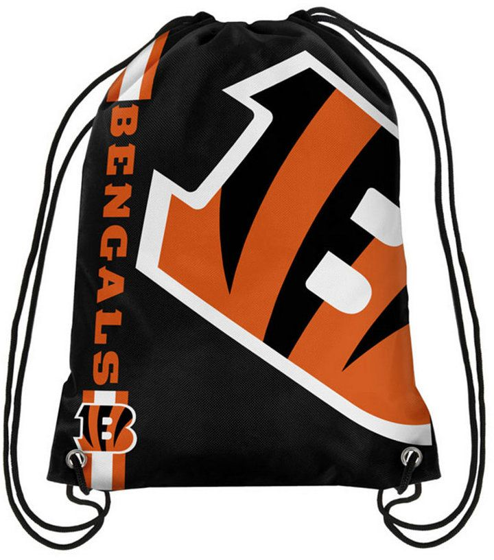 Forever Collectibles Cincinnati Bengals Big Logo Drawstring Bag