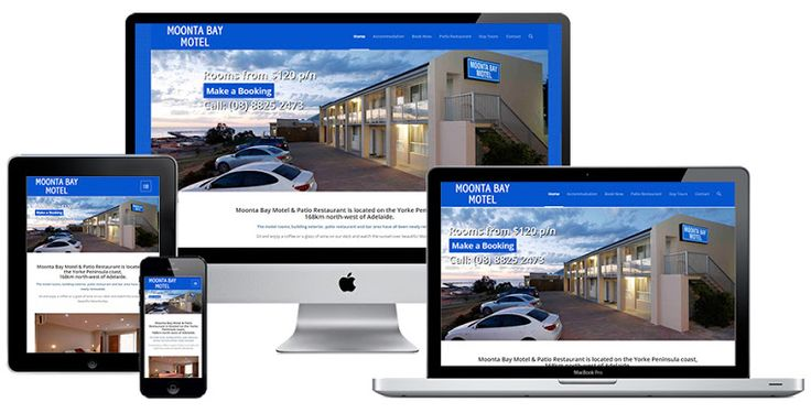 Ivolution Consulting - Adelaide Website Design - Moonta Bay Motel