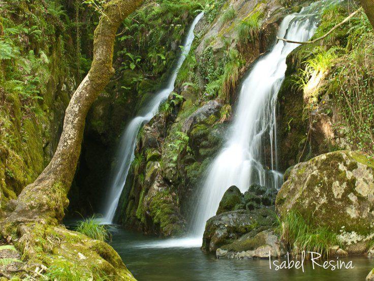 Cascada de Santa Leocadia, Mazaricos, Galicia. SPAIN