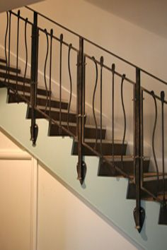 H35: Contemporary Stair Railings