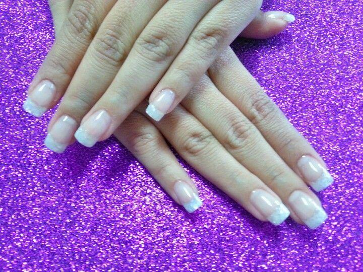 classic french nails | nail art design | Pinterest