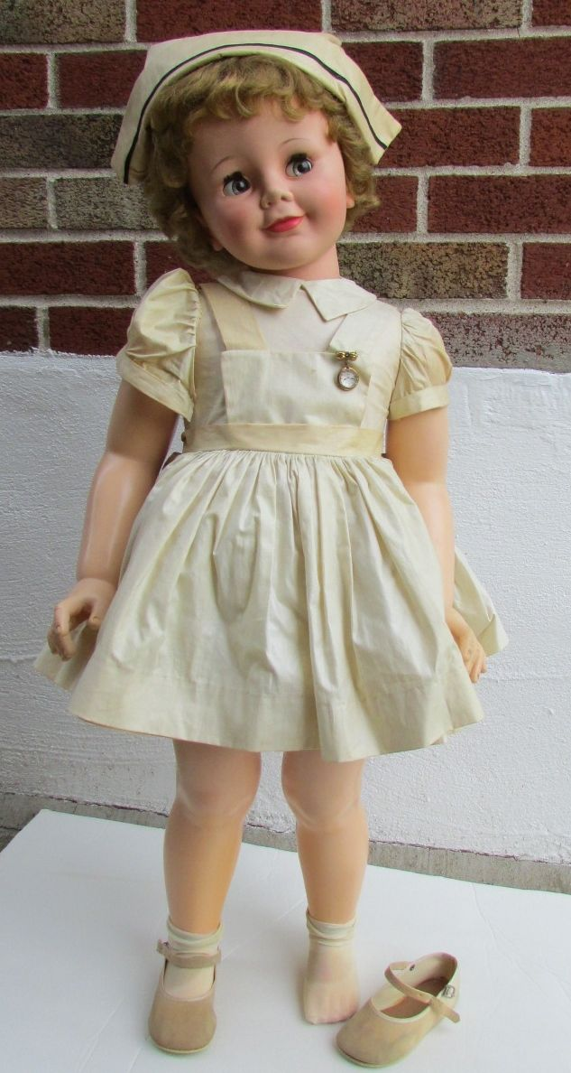 1959 Joanie Nurse Doll  Alexander Complete Flirty Playpal I'd love to find this little cutie!