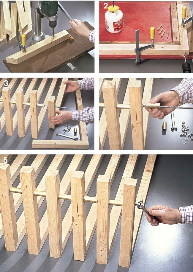 Oltre 10 fantastiche idee su costruire un letto su pinterest telaio di letto fai da te reti - Costruire letto contenitore ...