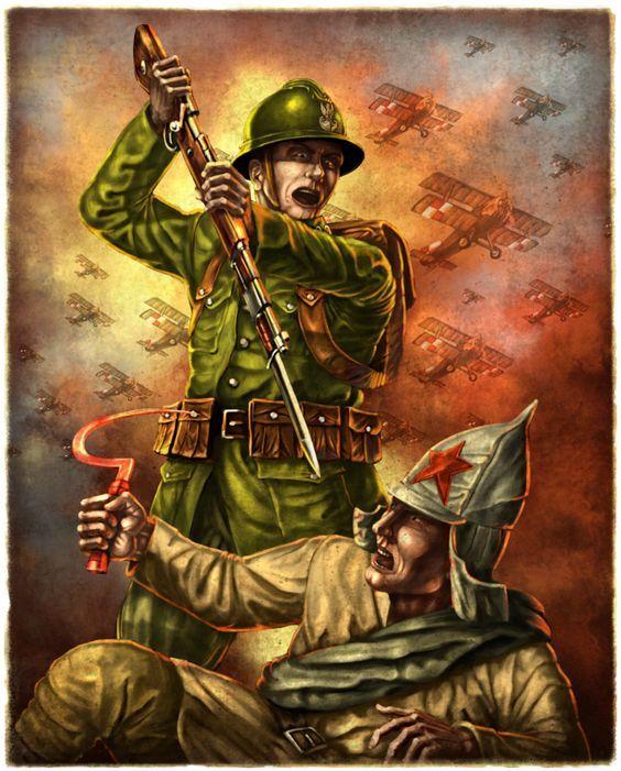 Polish Propaganda Poster.