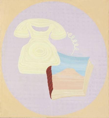 Císařovský Tomáš (*1962) | Telefon, 1990 | Aukce obrazů, starožitností | Aukční dům Sýpka