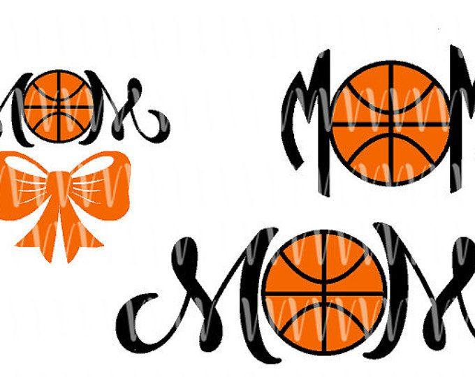 Archivo SVG de mamá de baloncesto