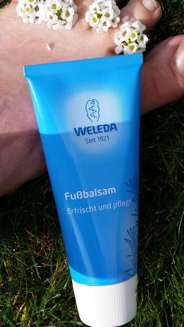 Freshworld - be fresh : Wochendfußbaderitual mit WELEDA Fußbalsam