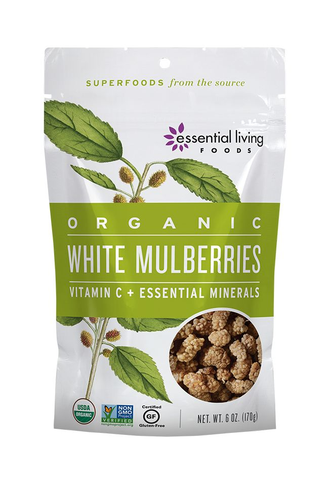 These incredibly sweet, chewy berries are candy of the gods!  High in Vitamin C, Iron, and Resveratrol (the longevity factor found in peanuts and red wine), they also provide a variety of other vitamins, minerals and protein!
