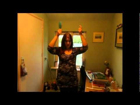 Zelf je haar knippen in laagjes DIY Creaclip review - YouTube