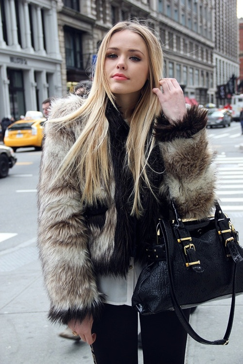 17 Best images about Fur on Pinterest | Faux fur coats, Pants and ...