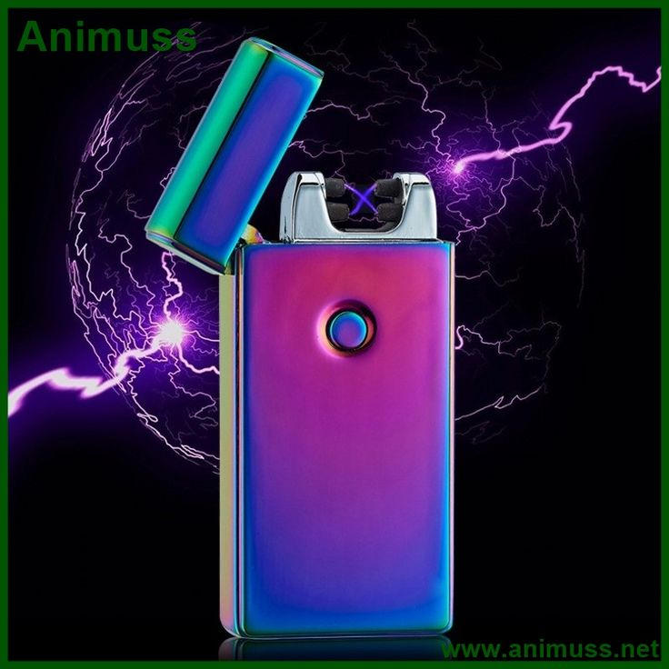 2016 Lithium Battery power Windproof Metal Pulse rechargeable flameless Arc electronic Cigar Cigarette USB Lighters