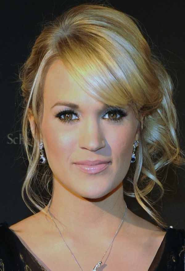 Carrie underwood has one of the best up-dos