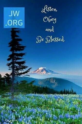 Listen, Obey, and be Blessed!