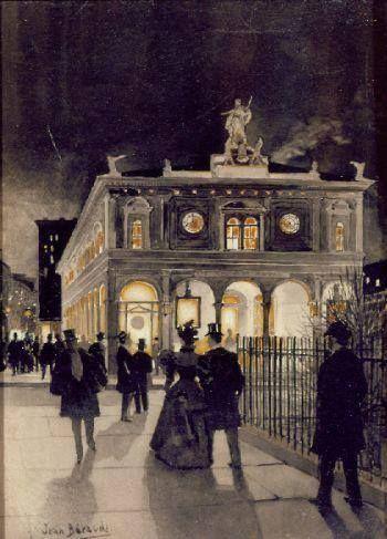 1890...........PARTAGE DE LE PEINTRE JEAN BERAUD
