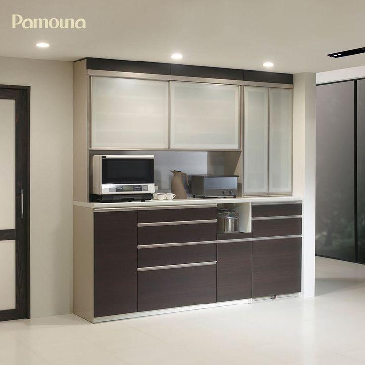 カラーオーダーができる食器棚 パモウナの食器棚には システムキッチンや建具との色合わせができるように 60色の中からカラーオーダーができるシリーズがあります カラーオーダー対象シリーズ Ne Ha La Au Eu B マンション リノベーション