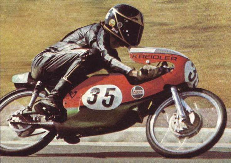 1971 Barry Sheene on 50cc Kreidler