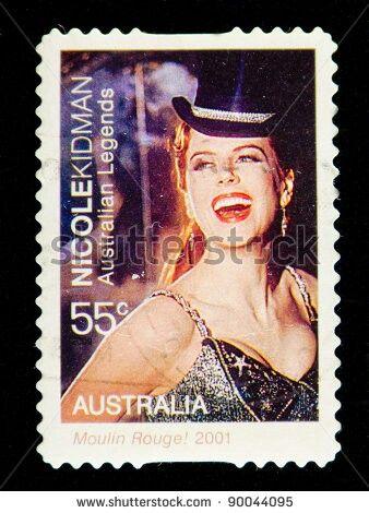 Australia Stamp - Nicole Kidman