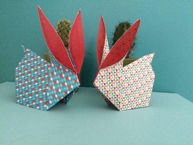 Lapin de pâque en origami, youbecom.fr,  http://www.youbecom.fr/deco-diy/tuto-diy-lapin-de-paques-en-origami-91426