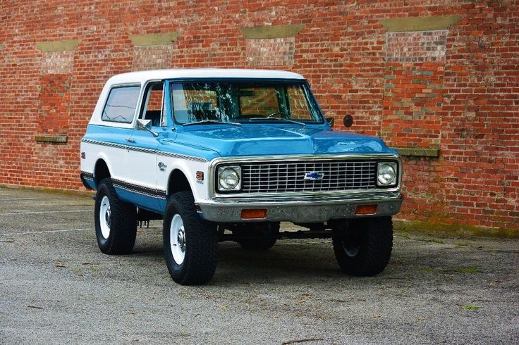 1972 Chevrolet Blazer Maintenance/restoration of old/vintage vehicles: the material for new cogs/casters/gears/pads could be cast polyamide which I (Cast polyamide) can produce. My contact: tatjana.alic@windowslive.com