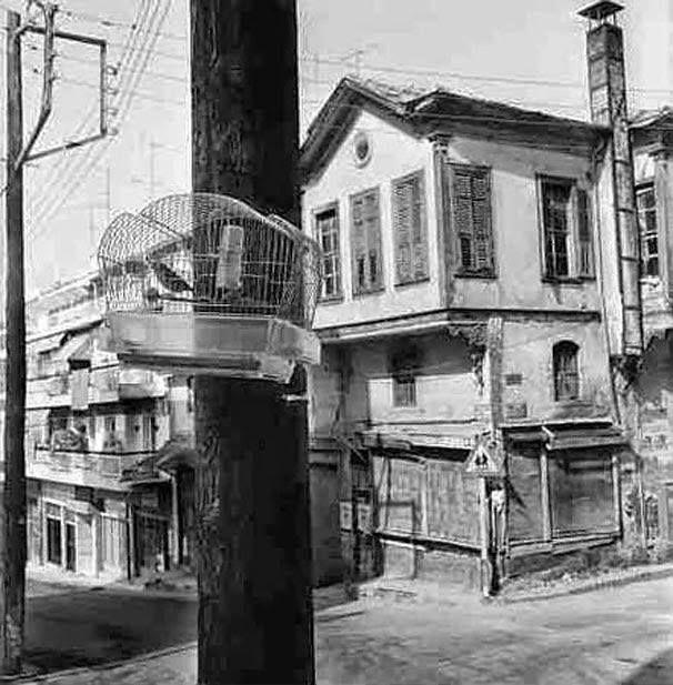 Θεσσαλονίκη ανω πόλη 1950 φωτ.Σωκράτης Ιορδανίδης