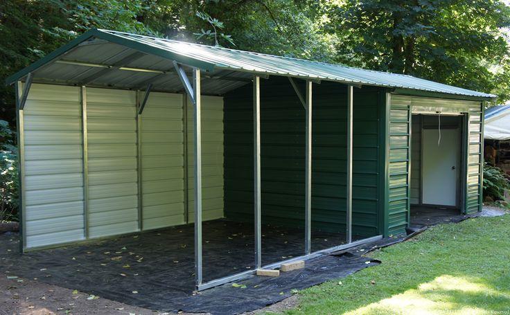Best 25 building a carport ideas on pinterest carport for Carport dog kennels