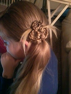 I use this blog for hair ideas for our annual Reformation/Renaissance Party