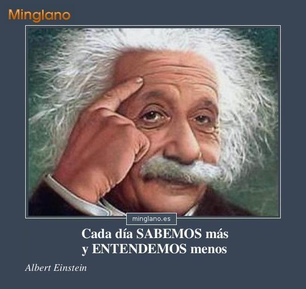 Frases filosoficas de Einstein