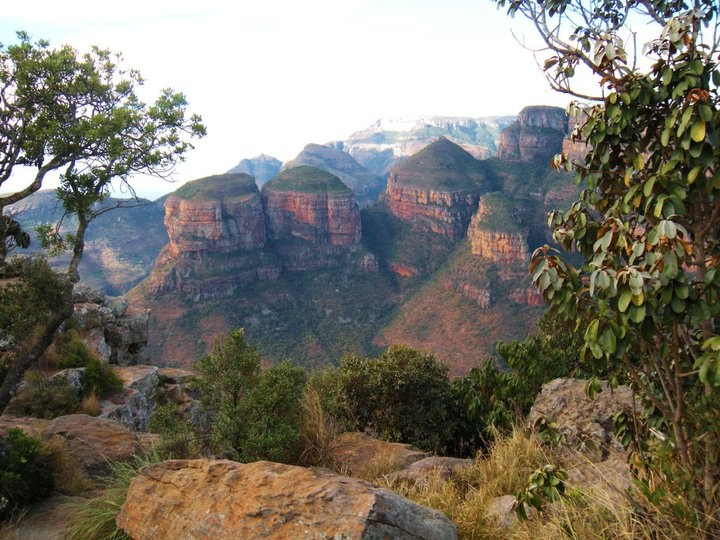 South Africa!! Three rondawels?