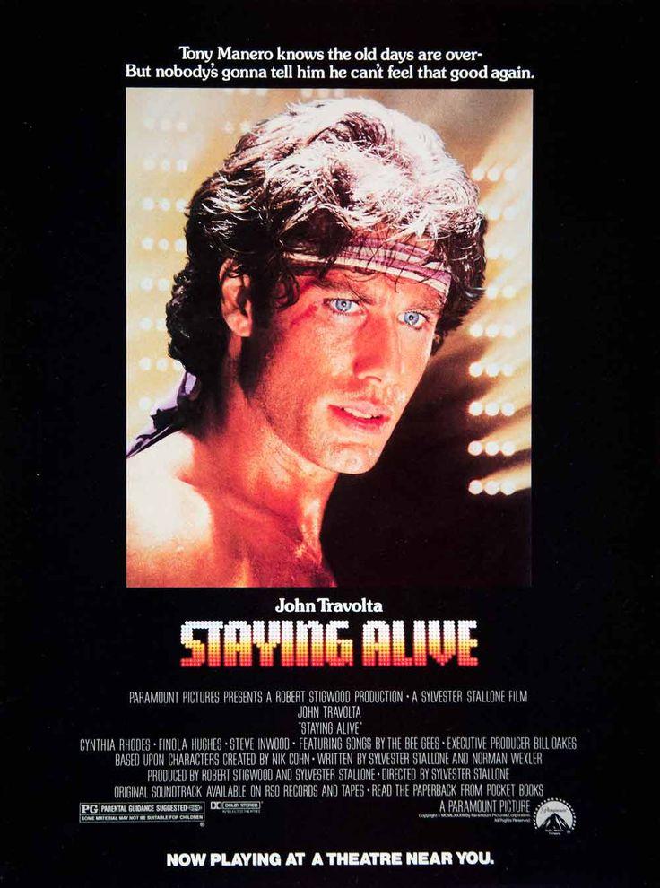 1983 Ad Film Staying Alive John Travolta Sylvester