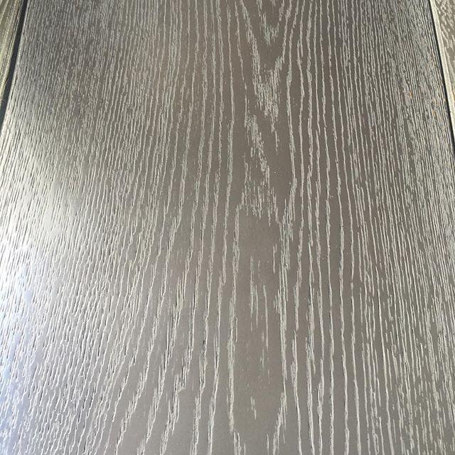 Wood flooring with real metal finish in Gunsmoke metal #luxurywoodflooring…