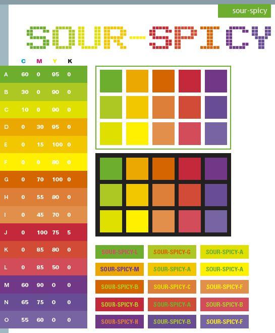 Red Web Color Pallets | Sour-Spicy color schemes, color combinations, color palettes.
