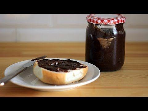 Domowe masło czekoladowo-orzechowe